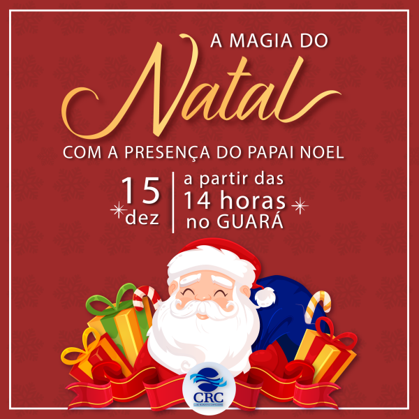 PAPAI NOEL NO GUARÁ